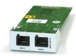 Модуль с двумя портами G.703/E1 и поддержкой CRC-4 Zelax MIM-2xE1A